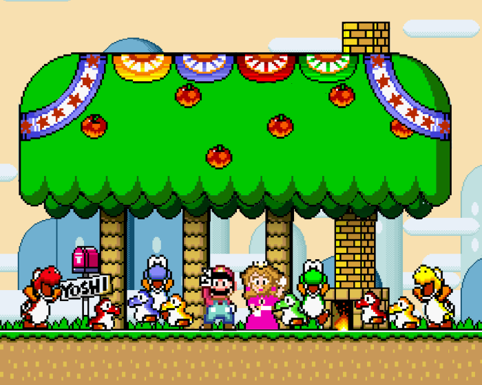 super-mario-world-ending